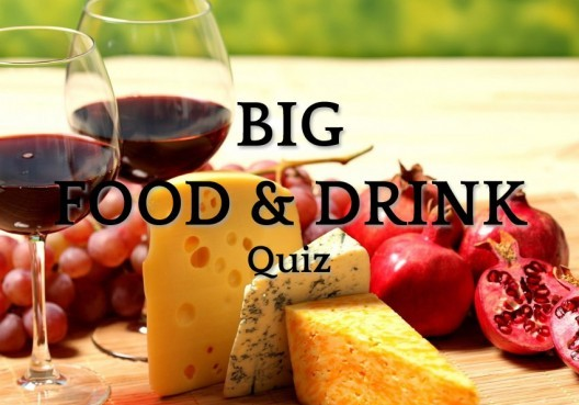 The Big Food & Drink Quiz | Love A Quiz